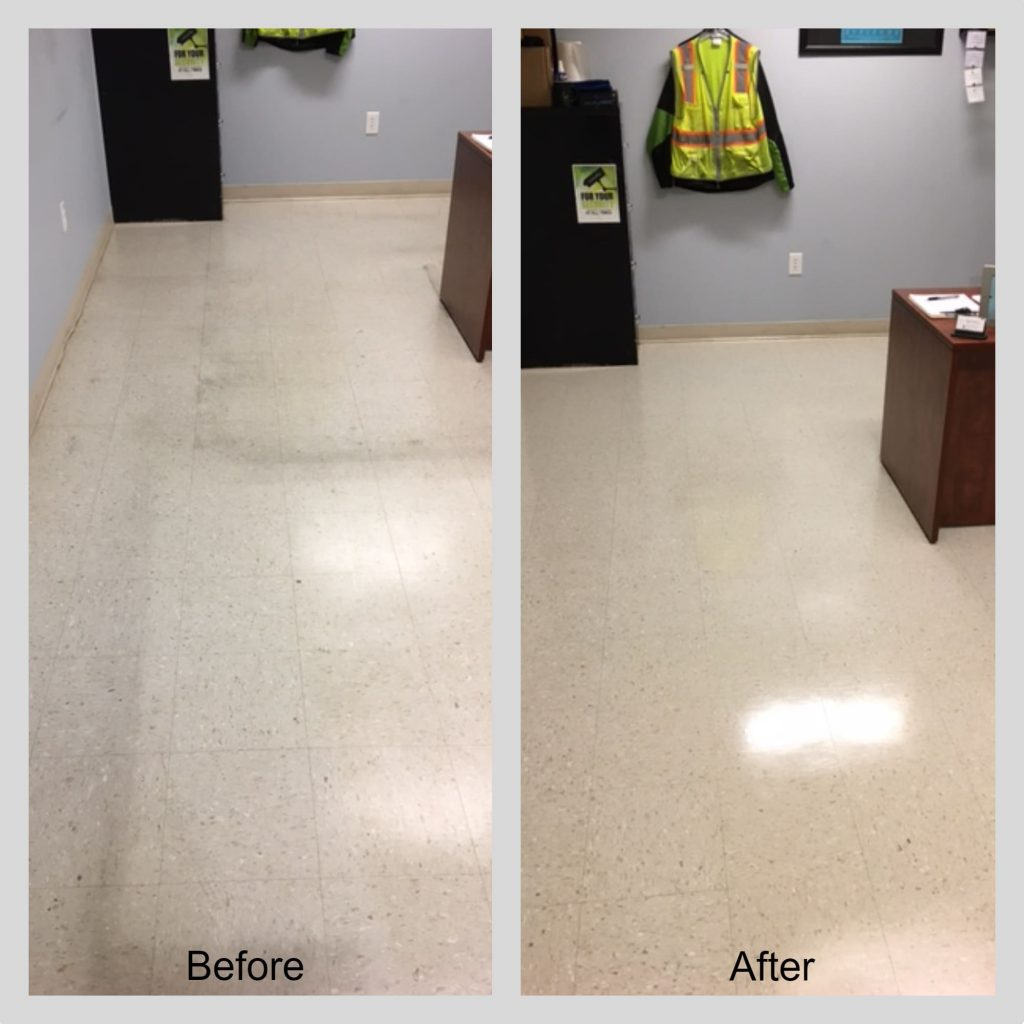 Floor strip and waxing Melbourne Florida